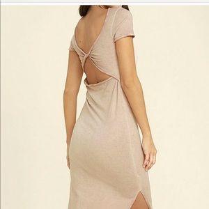 Lulus mauve dress NWT